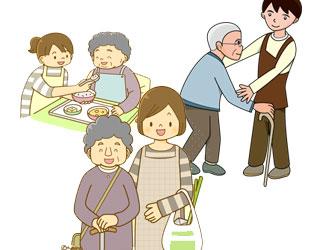 介護保険事業・障がい福祉サービス事業のイメージ
